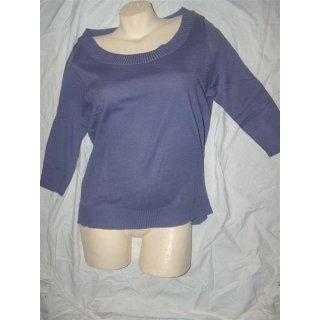 WOB Pullover TOP Kombiteil lila Größe 02 (40-42)