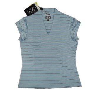adidas WCColCpSlvVneck Golf Shirt M oder XL
