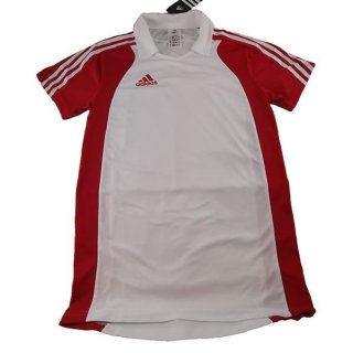 adidas Polo M in white/collegered 9L (etwa XL)
