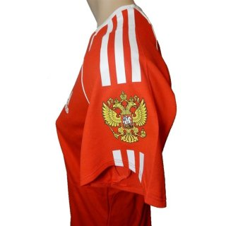 adidas Pres S/S Tee Shirt Russia Russland Team