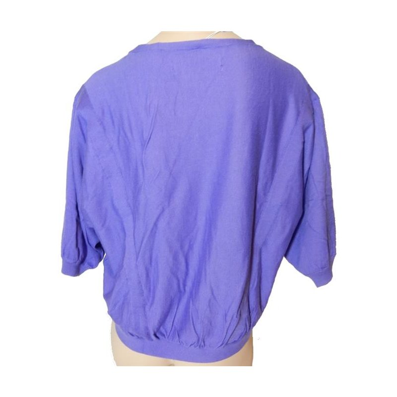 adidas W Scoop Knit Pullover Shirt Sweater lila, 14,95 €
