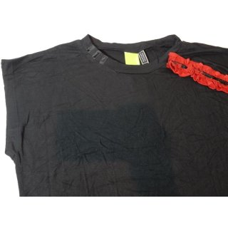 adidas Lace Tee Top black/red