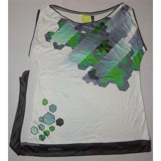 adidas SS Top T-Shirt Shirt realgreen/corereal mit Band