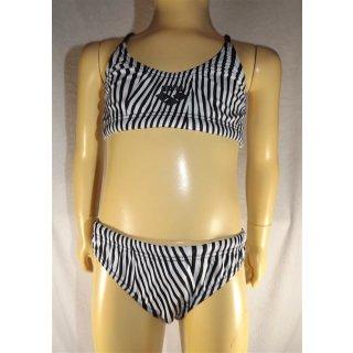 Arena Kinderbikini Bikini Lagnify JR schwarz/weiß  Gr. 140 /10Y