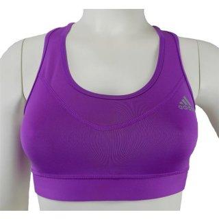 adidas techfit TF Bra Solid purple/silver L (42/44)
